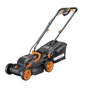 Worx Cordless 14″ Lawn Mower (Dual Charger)