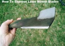 How To Sharpen Lawn Mower Blade