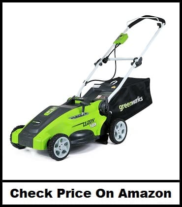 GreenWorks 16Inch 10 Amp Corded Lawn Mower