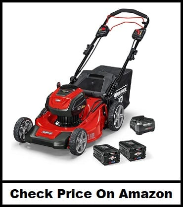 Snapper XD Cordless Electric 21-Inch Self-Propelled Lawn Mower