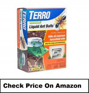 TERRO 1806 liquid ant baits outdoors