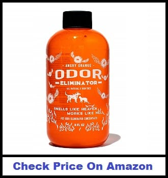 Angry Orange Pet Odor Eliminator Dog and Cat Odor Remover