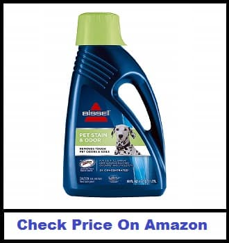 BISSELL 2X Pet Stain & Odor Full Size Machine Formula