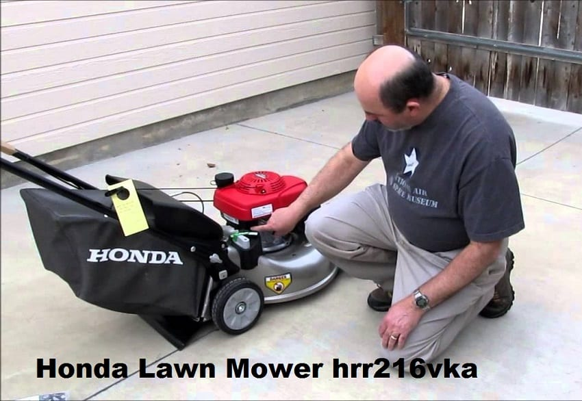 Honda Lawn Mower hrr216vka