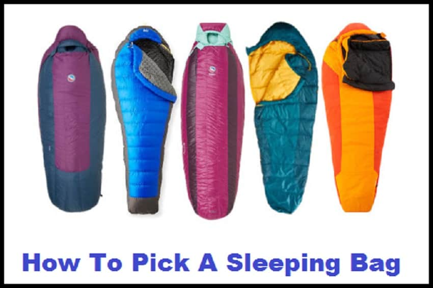 How To Pick A Sleeping Bag