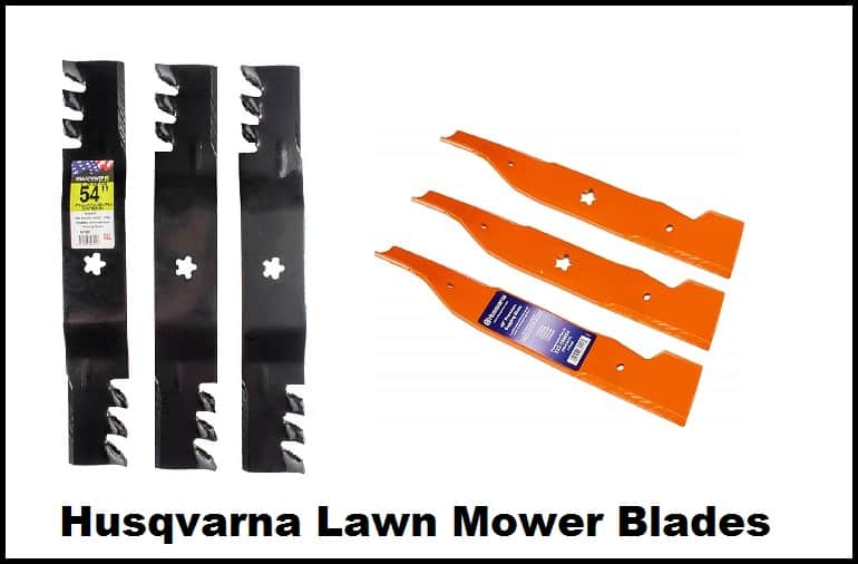 Husqvarna Lawn Mower Blades
