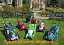 Types Of Lawn Mowers