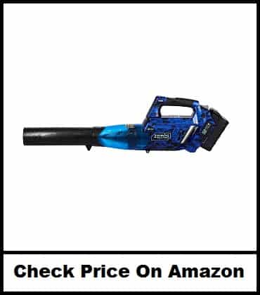 Zombi Variable Speed 105 MPH Max Cordless Electric Blower