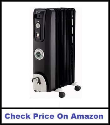 DeLonghi EW7707CB 1500W Space Electric Heater