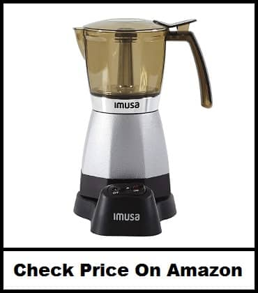 IMUSA USA B120-60007 Electric Coffee Moka Maker
