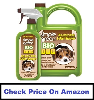 Simple Green Bio Dog Active Stain & Odor Remover