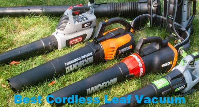 Best Cordless Leaf Vacuum & Blower