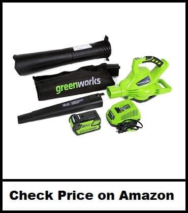 Greenworks 40V Cordless Leaf Blower Vacuum
