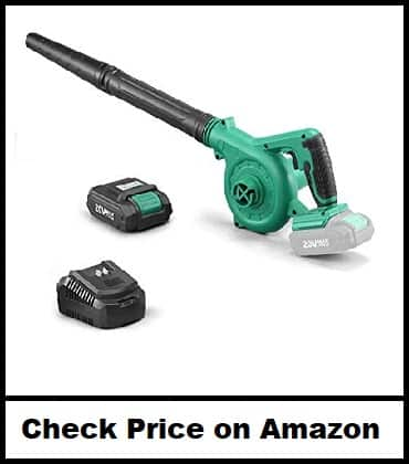 KIMO Cordless Leaf Blower & Handheld Vacuum