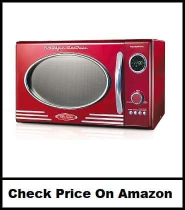 Nostalgia 800-Watt Countertop Microwave Oven