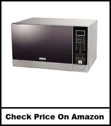 RCA Cubic Feet Stainless Steel Microwave Oven