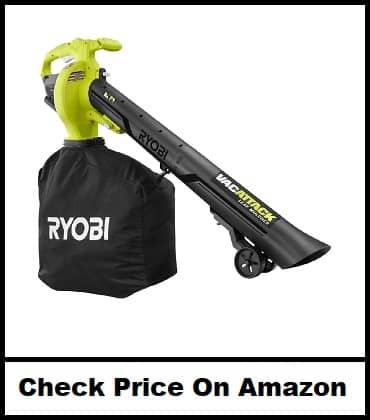 RYOBI VacAttack Lithium-Ion Cordless Leaf Vacuum