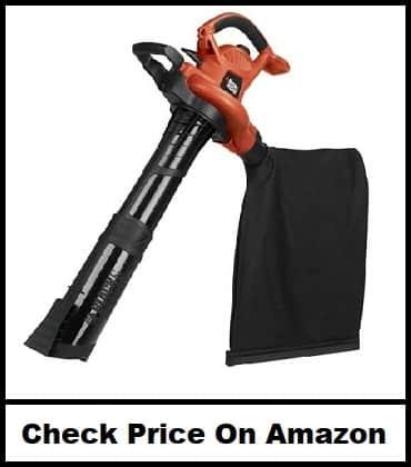 BLACK+DECKER Electric Leaf Blower, Vacuum, Mulcher