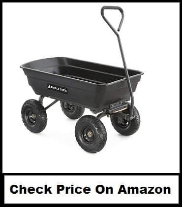 Gorilla Carts GOR4PS 600-Pound capacity