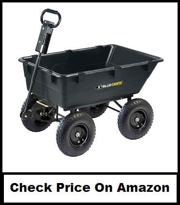 Gorilla Carts GOR866D 1200-Pound capacity