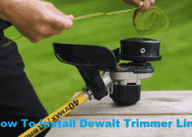How To Install Dewalt Trimmer Line