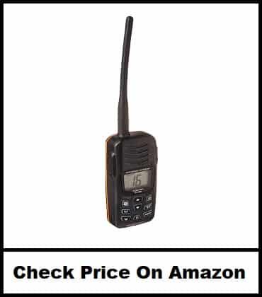 Standard Horizon Handheld VHF Marine Radio