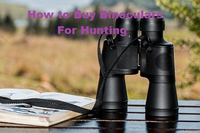 How to Buy Binoculars For Hunting
