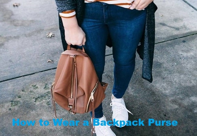 How to Wear a Backpack Purse