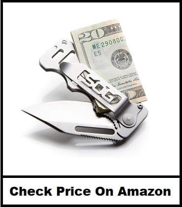 Sog Cashcard Folding Knife