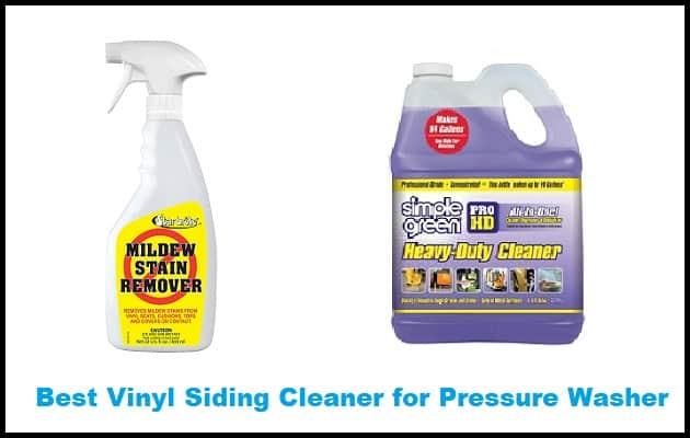 Best Vinyl Siding Cleaner for Pressure Washer