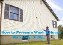 How to Pressure Wash a House With Vinyl Siding
