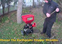 Choose The Earthquake Chipper Shredder