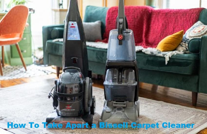 How To Take Apart a Bissell Carpet Cleaner