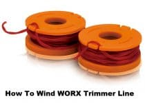 How To Wind WORX Trimmer Line