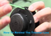 How To Rewind The Trimmer Line